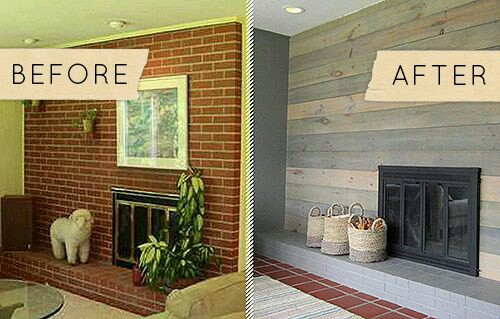 Before And After Fireplace Renovations That Are Amazing The Carpet House