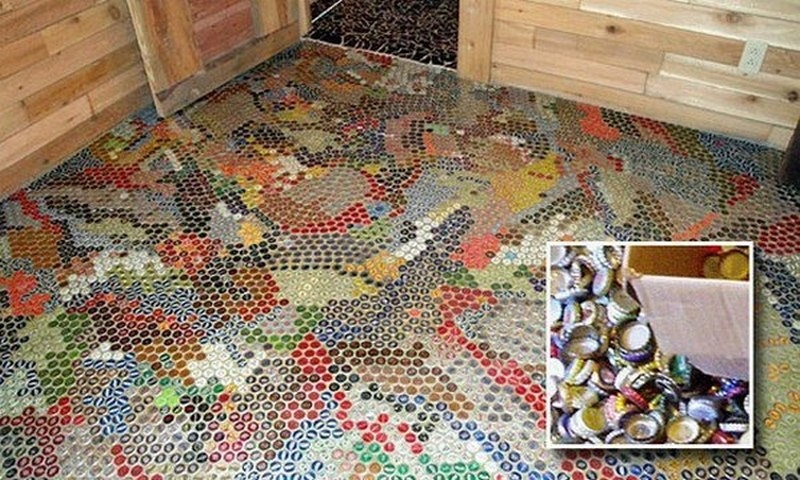 """Unusual Flooring Ideas unusual ideas for those who like to think """"out of the box"""" 